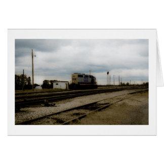 Cartes CSX Railroad le moteur Toledo, OH de yard de