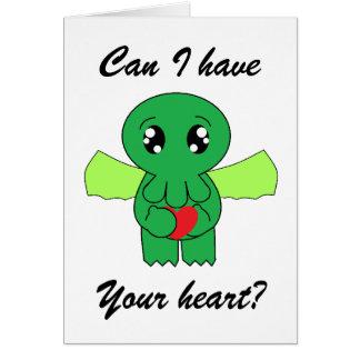 Cartes Cthulhu veut votre coeur