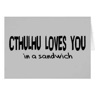 Cartes Cthulhu vous aime