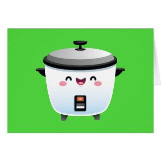 Cartes Cuiseur de riz de Kawaii