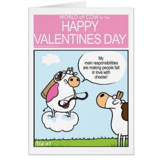 Cartes Cupidon de vache