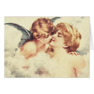 Cartes Cupidon et baiser de psyché