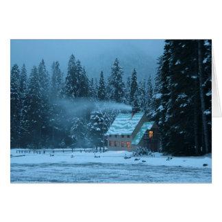 Cartes Curtis Gilbert dans la neige