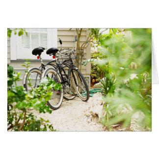 Cartes Cycle Miami de recyclage allant à vélo la Floride