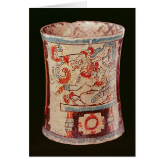 Cartes Cylindrique dépeignant une divinité avec des