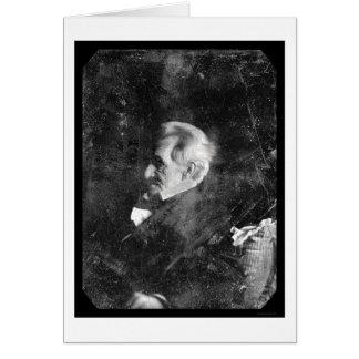 Cartes Daguerréotype 1844 du Président Andrew Jackson