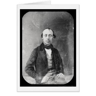 Cartes Daguerréotype 1848 de Cornélius Mathews d'auteur