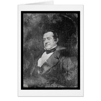 Cartes Daguerréotype 1855 de Washington Irving