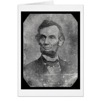 Cartes Daguerréotype 1864 du Président Abraham Lincoln
