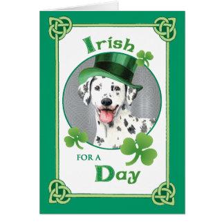 Cartes Dalmate du jour de St Patrick