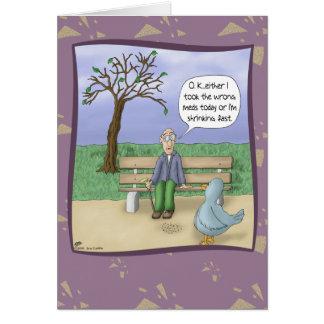 Cartes d'anniversaire drôles : Jour au parc