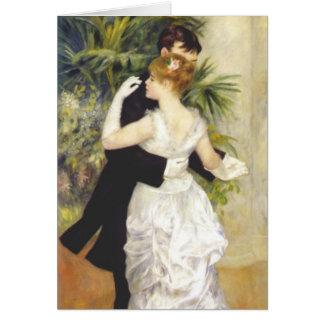 Cartes Danse dans la ville par Renoir