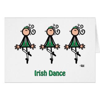 Cartes Danse d'Irlandais