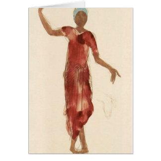 Cartes Danseur c1906 du Cambodge de Rodin de ~ de