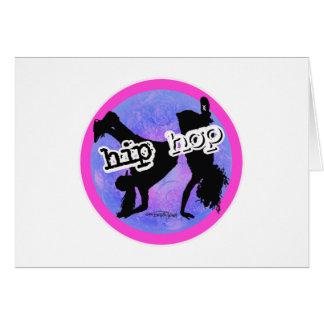 Cartes Danseur de HIP HOP