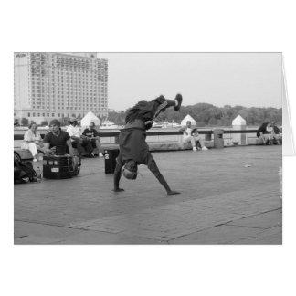 Cartes Danseurs de rue