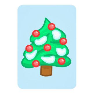 Cartes d'arbre de Noël