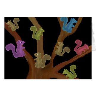 Cartes d'asile d'écureuil