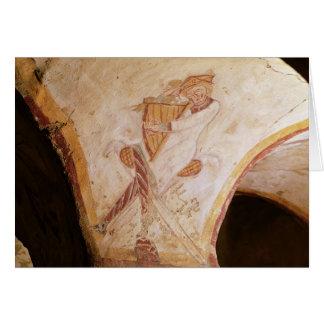 Cartes David jouant sur l'harpe