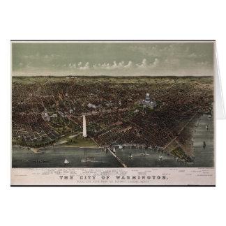 Cartes DC de Washington. De Potomac semblant du nord