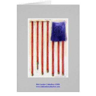 Cartes de 9/11 de drapeau américain de