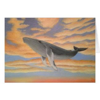 Cartes de baleine de vol