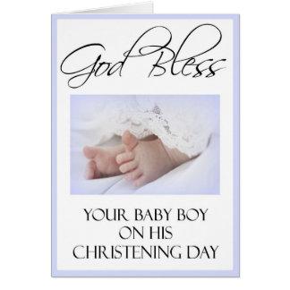 Cartes de baptême/baptême
