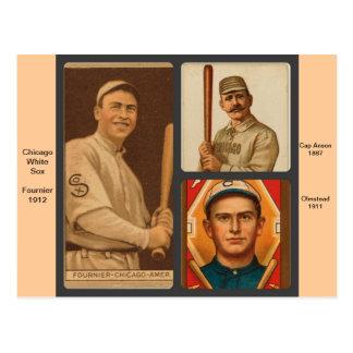 Cartes de base-ball vintages des White Sox de