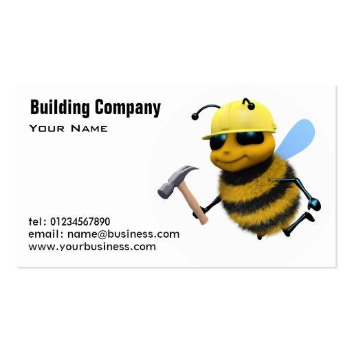 cartes de b timent et d 39 entreprise de construction mod le de carte de visite zazzle. Black Bedroom Furniture Sets. Home Design Ideas