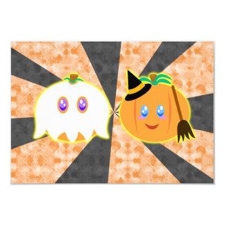 cartes de citrouilles de Halloween