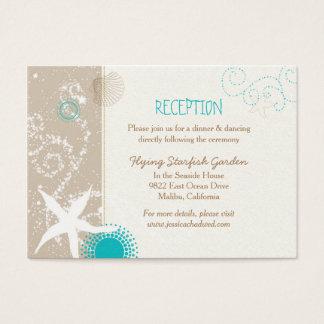 Cartes de clôture de réception de mariage