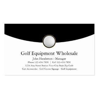 Cartes de commerce de gros d'équipement de golf carte de visite standard