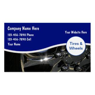 Cartes de commerce de l'automobile carte de visite standard