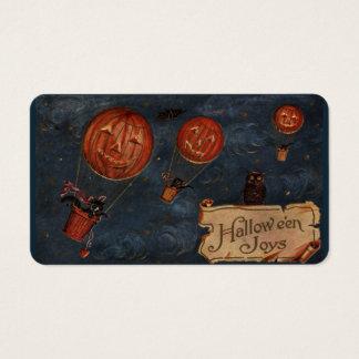 Cartes de festin de joies de Halloween