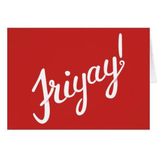 Cartes de Friyay