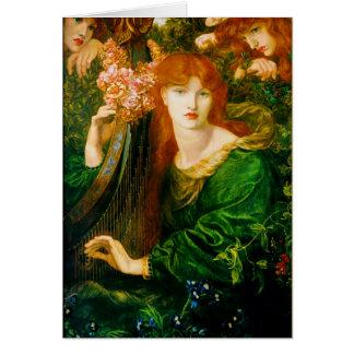 Cartes de Ghirlandata de La par Dante Gabriel