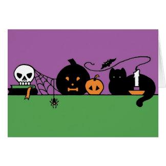 Cartes De Halloween toujours la vie