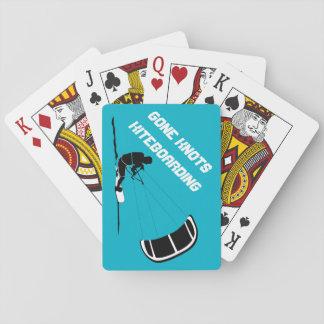 Cartes de jeu allées de Kiteboarding de noeuds Jeu De Cartes