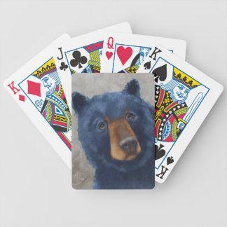 Cartes de jeu avec l'ours lunatique #2 jeu de cartes