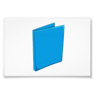 Cartes de jeu bleues faites sur commande de