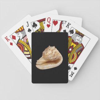 Cartes de jeu classiques de Shell de conque Jeu De Cartes