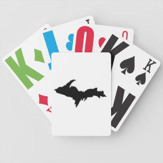 Cartes de jeu colorées de Yooper Jeu De Poker