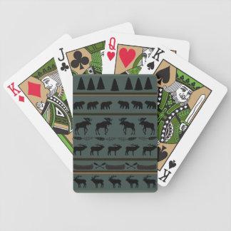 Cartes de jeu couvrantes de cabine jeu de cartes