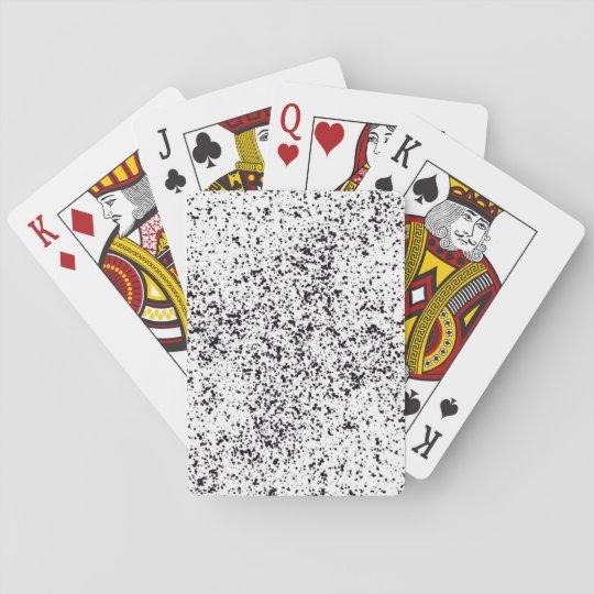 Cartes de jeu dalmatiennes d'impression jeux de cartes