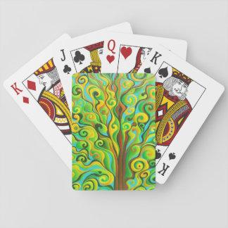 Cartes de jeu d'arbre d'esprit de Positronic Jeux De Cartes