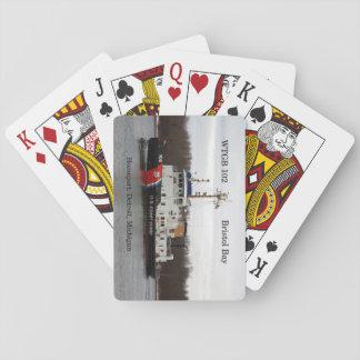 Cartes de jeu de baie de WTGB 102 Bristol Cartes À Jouer