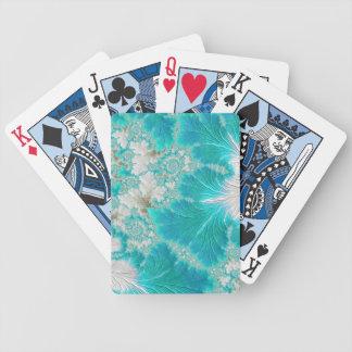 Cartes de jeu de bicyclette d'image de fractale cartes à jouer