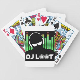 Cartes de jeu de butin du DJ Jeux De Cartes