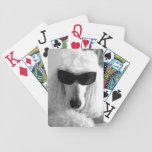 Cartes de jeu de caniche cartes à jouer