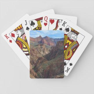 Cartes de jeu de canyon grand jeu de cartes